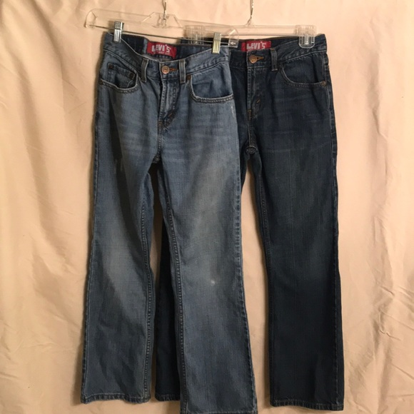 58185a6a781 Levi's Bottoms | Two Boys 527 Levis Bootcut Jeans Size 12 | Poshmark